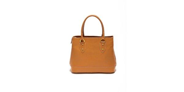 Dámska koňaková minimalistická kabelka Renata Corsi