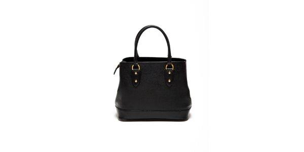 Dámska čierna minimalistická kabelka Renata Corsi