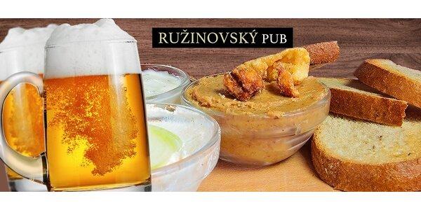 2 osviežujúce pivá+hrianky s domácimi natierkami!