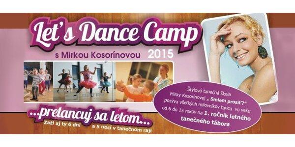 Let´s Dance Camp s Mirkou Kosorínovou 2015