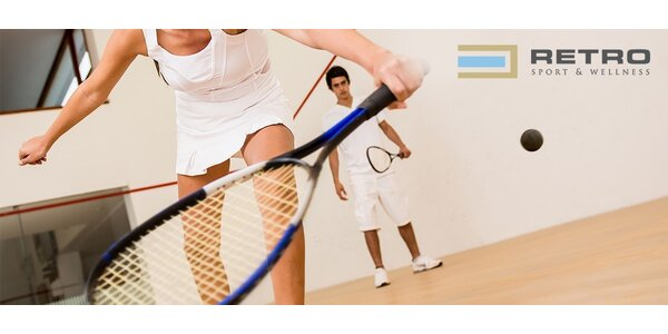 Permanentky na badminton a squash v RETRE