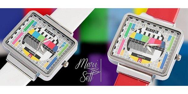 Štýlové RETRO hodinky s monoskopom