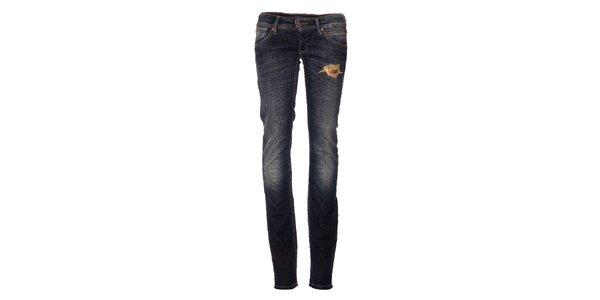 Dámske tmavo modré džíny Pepe Jeans