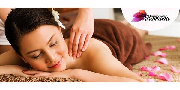 Luxusná masáž podľa vášho výberu
