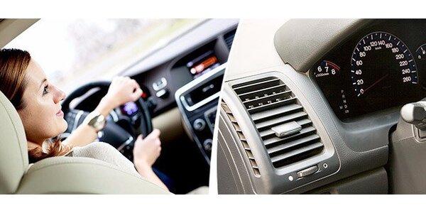 Kontrola a plnenie klimatizácie auta