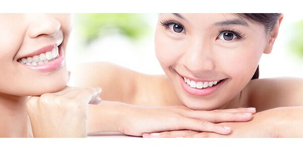 Profesionálne vybielenie zubov za 5 minút