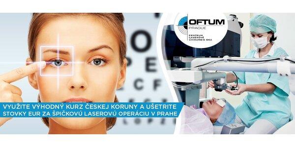 Bezbolestná operácia očí metódou Z-LASIK 6D
