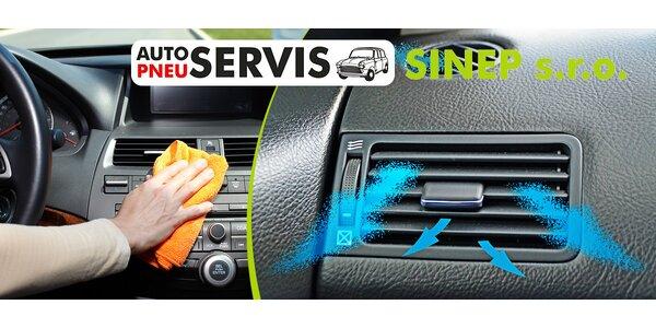 Čistenie a plnenie klimatizácie pre všetky autá