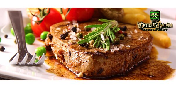 Hovädzí steak alebo kuracie prsia Supreme