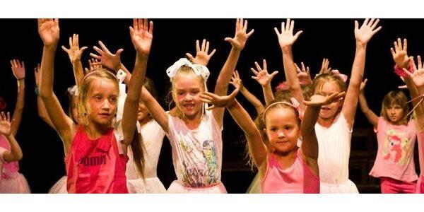 Denné tanečné tábory pre deti 4-5 rokov