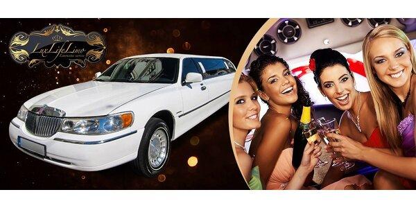 Prenájom limuzíny na svadbu/rozlúčku so slobodou!