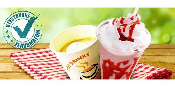 TAKE AWAY! Káva so zmrzlinou či skvelý milkshake