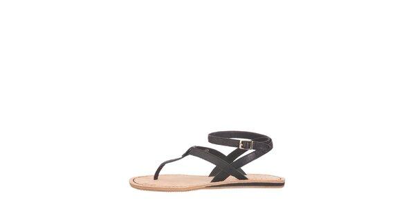 Dámske čierne sandálky Flip Flop