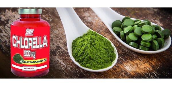 Zelená Chlorella vás dostane do pohody!
