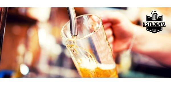 Super zľavy na drinky, limonády a pivá U študenta