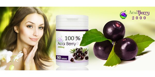 Acai berry 90 tabliet pre účinné chudnutie