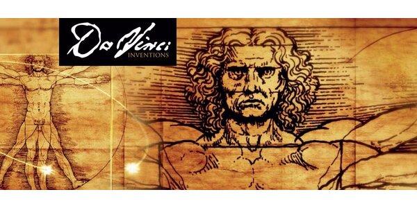 Vstupné na výstavu Da Vinci v Prahe