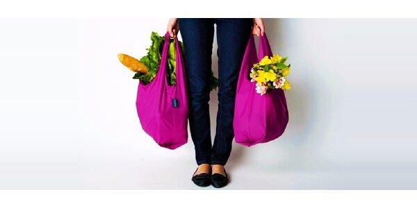 Praktická skladacia nákupná taška