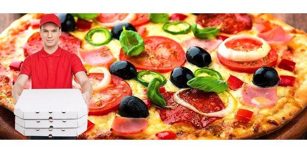 2 vami vyskladané pizze až pred dvere