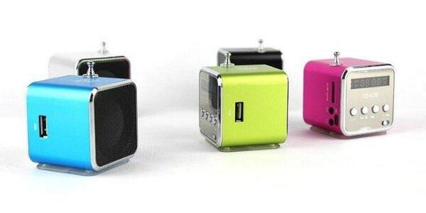 Mini prenosný USB reproduktor