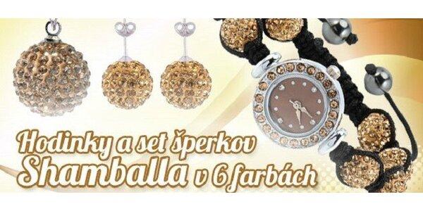 Súprava šperkov s hodinkami