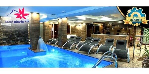 Luxusný Wellness pobyt v Hoteli Pieris*** Podbanské
