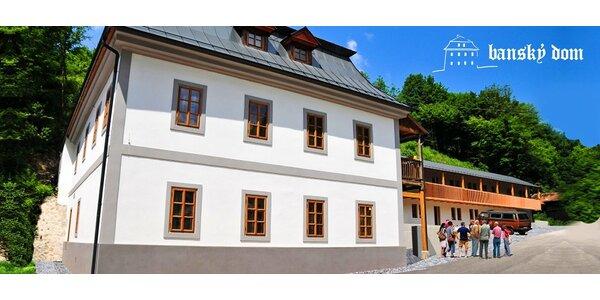 Letný wellness pobyt v Štiavnických vrchoch