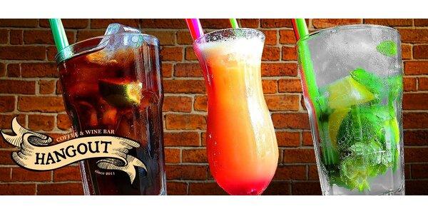 Vyhľadávané miešané drinky v Hangout café