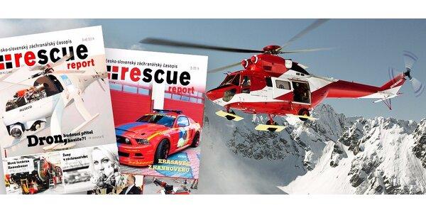 Predplatné časopisu RESCUE report