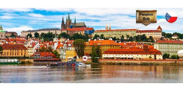 Pobyt pre 2 osoby v Hoteli BoB*** Praha