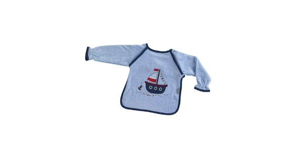 Detský modrý podbradník Naf Naf s lodičkou