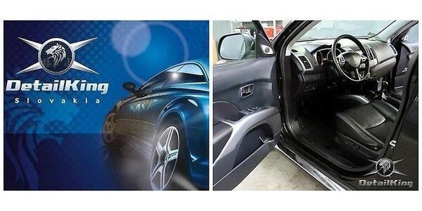 Tepovanie interiéru vozidla parou
