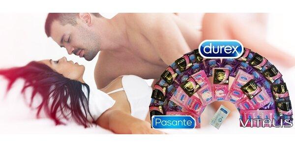 Letné balenia DUREX, PASANTE a VITALIS kondómov!