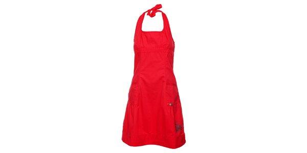 Dámske červené šaty Loap