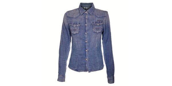 Dámská džínová košeľa Pepe Jeans
