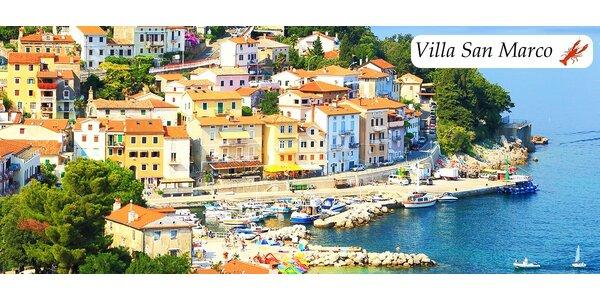 5 či 7 dní v Istrii s polpenziou pre 2 osoby