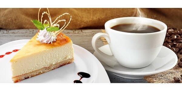 Káva + cheesecake alebo 2x Captain Morgan + Pepsi