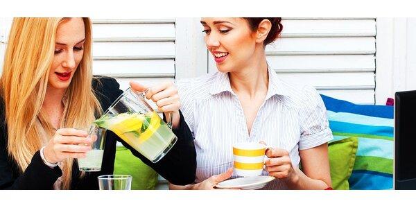 Espresso s mliekom a citronádou alebo limonádou