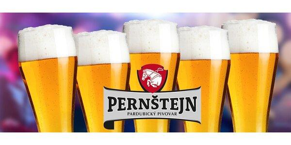 5 osviežujúcich pollitrákov 11° Pernštejnu