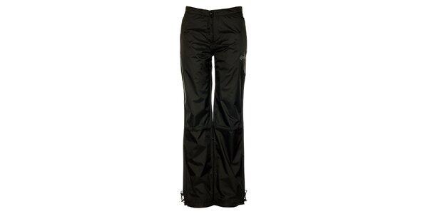 Dámske čierne šusťákové nohavice Loap s podšívkou