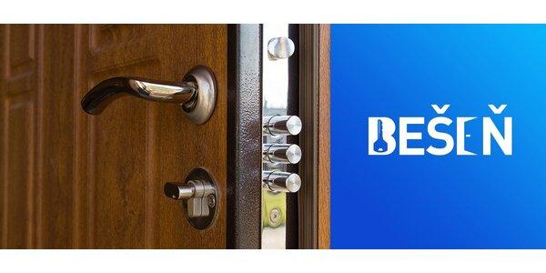 Certifikované bezpečnostné vchodové dvere ITM/3