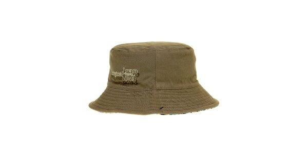 Pánsky béžový klobúčik Loap