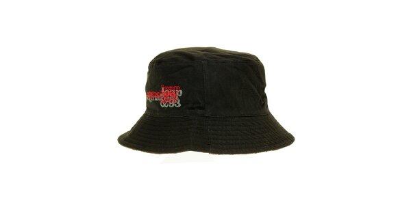 Pánsky čierny klobúčik Loap