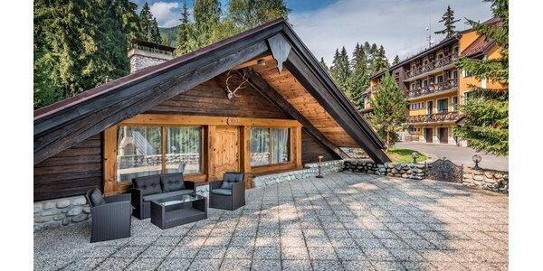 Novozrekonštruované chatky a deluxe chata Kriváň!