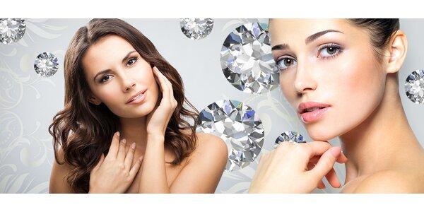 Diamantová dermabrázia pre krásnu a omladenú pleť