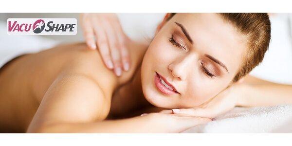 Klasická masáž chrbta, šije alebo celého tela