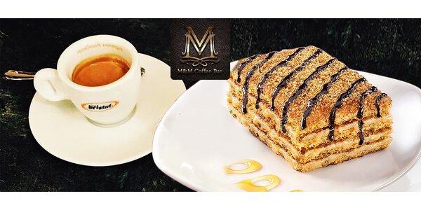 Espresso a ďalšie dobroty v M&M Coffee Bar