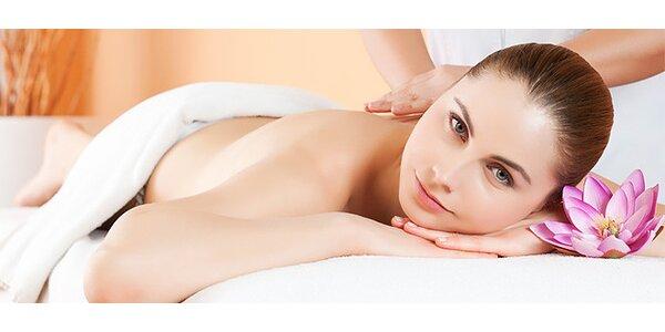 Masáž chrbta alebo medová masáž