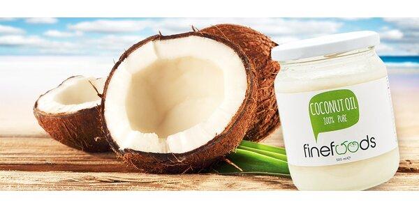 100 % prírodný kokosový olej 500 ml