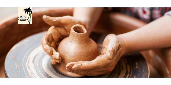 Mesačný kurz keramiky a modelovania